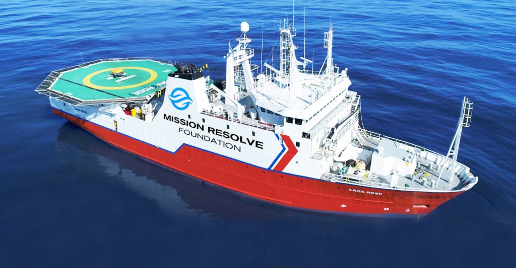 HERV (Humanitarian and Environmental Response Vessel) LANA ROSE